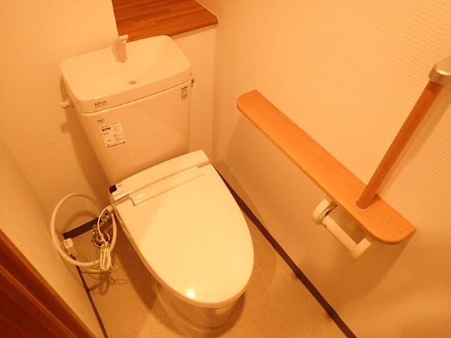 【トイレ】リラハイツルネス北九条壱番館