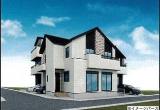 【完成予想図】KEIAI Style 新築分譲住宅 さいたま市北区土呂町8期 土呂町二丁目