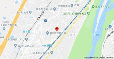 【地図】みなせマンション2号館