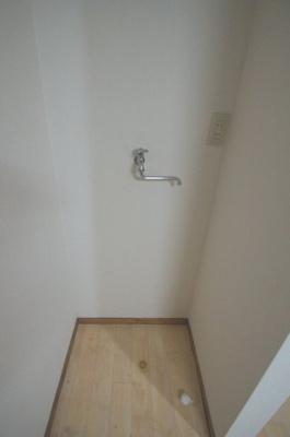 室内洗濯機置場あります。