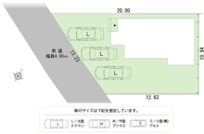 【区画図】浜北区横須賀2期 新築物件 HP