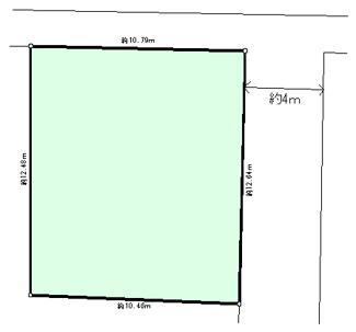 【土地図】西原町4丁目土地