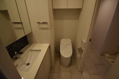 【トイレ】南麻布の新築物件 THE CLASS MINAMIAZABU