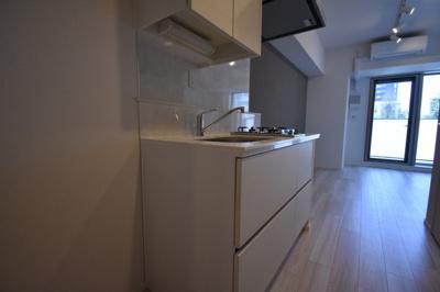 【キッチン】南麻布の新築物件 THE CLASS MINAMIAZABU