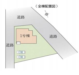 【区画図】高崎市宿横手町KEIAI FiT 1期