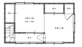 【間取り】高崎市倉渕町川浦 中古戸建
