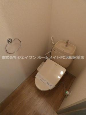 【トイレ】シャトレ大鋸