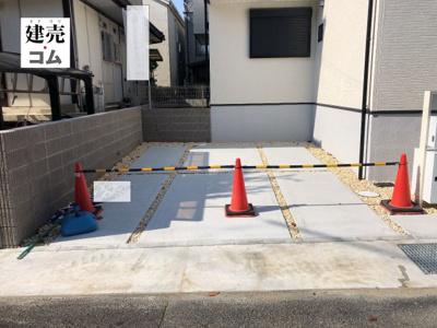 神戸市垂水区東垂水3丁目 新築一戸建て 同一仕様例写真です。実際とは色・柄等が異なります。