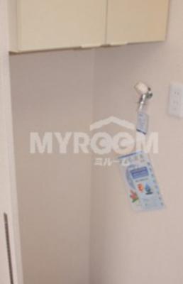 室内洗濯機置場★上部収納有☆(同一仕様写真)