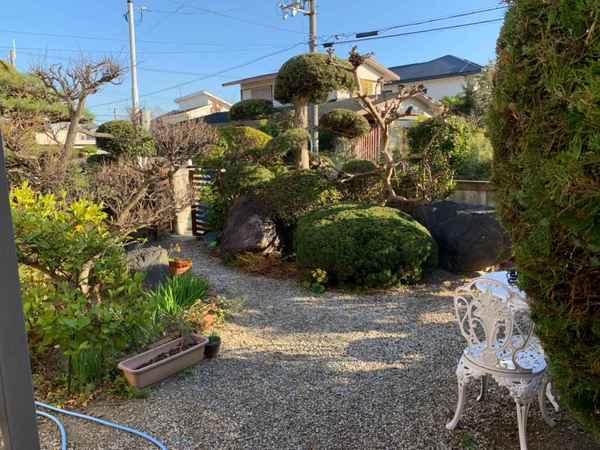 和風庭園があります♪