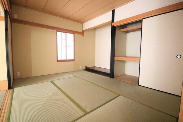 1階北側6帖の和室です♪
