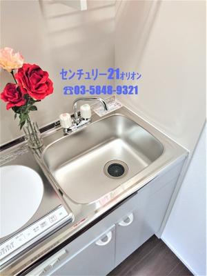【キッチン】クオテラス富士見台