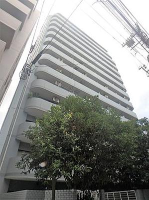 鉄筋鉄骨コンクリート造の14階建てマンションです。