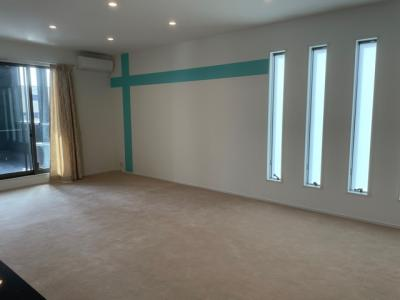 【居間・リビング】和歌山市鷹匠町6丁目・新築住宅・54268