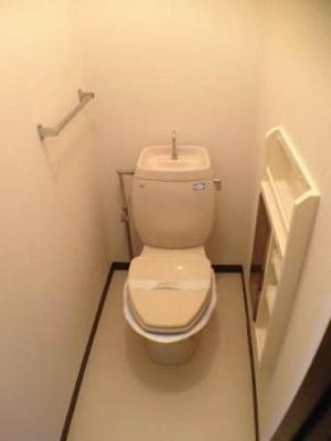 【トイレ】ツインハイムA棟