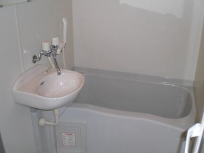 【浴室】レオパレスエクセルハイツ神前