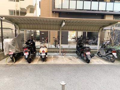 【駐輪場】セントラルパレス大今里ステーションアヴェニュー