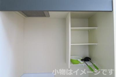 洗濯機が備え付きです