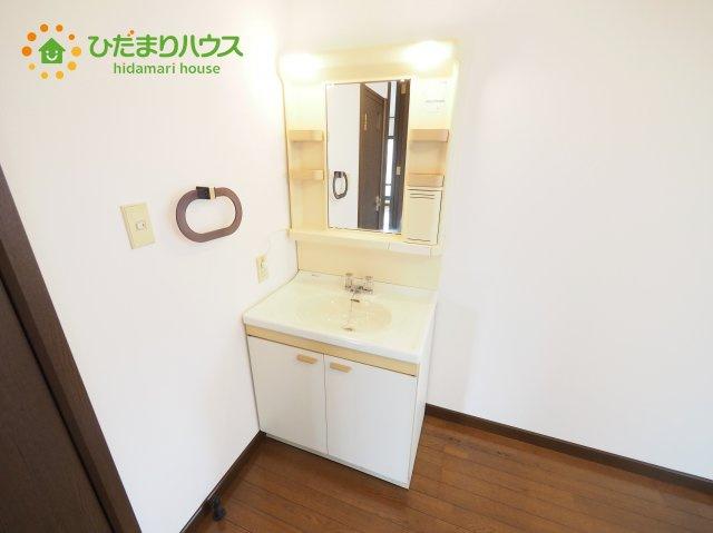 2Fにも独立洗面台完備!! 忙しい朝に便利ですね(#^^#)