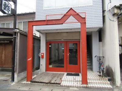 【外観】小性町貸店舗(缶詰バー跡)