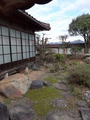 【庭】河原町山手戸建て