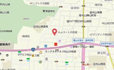 【地図】歩行町2丁目K住宅