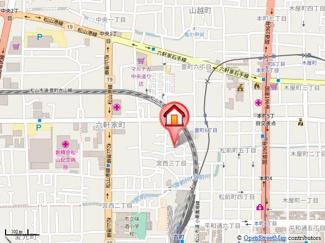 【地図】ベーシックアパートメント