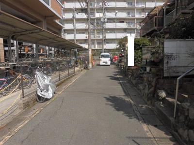 【前面道路含む現地写真】京都市山科区東野百拍子町