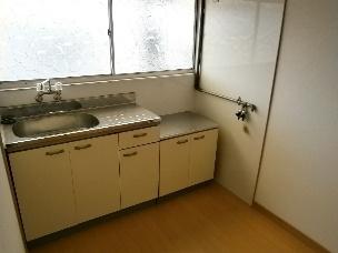 【キッチン】大東市錦町アパート