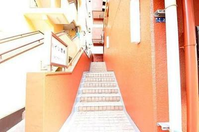 【外観】家具付■ハイツ扇橋 3階 61.26㎡ 角部屋 リフォーム済
