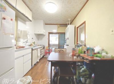 ダイニングキッチン/床下収納有