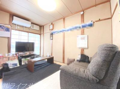 1階和室/ダイニングキッチン側からの撮影