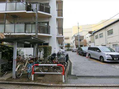 【駐車場】ネオコーポ西大島 3階 リフォーム済