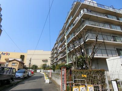 【外観】ネオコーポ西大島 3階 リフォーム済