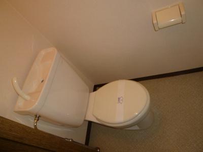 【トイレ】サンシティ第一マンション