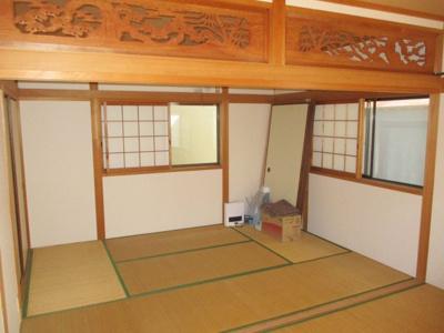2階和室は、2間続きになっています。