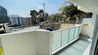 【バルコニー】◆住環境良好◆リフォーム済み美麗♪逆瀬川パークマンション◆