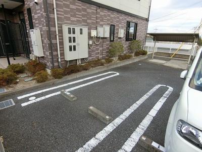 【駐車場】レジダンス・ヴィオレットⅡ