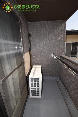 南側に面したバルコニー☆彡お洗濯物がよく乾きます♪