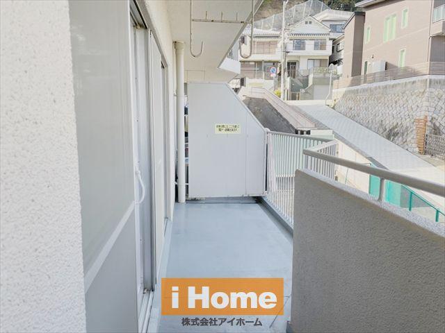 高台に立地したマンションのため眺望良好です!