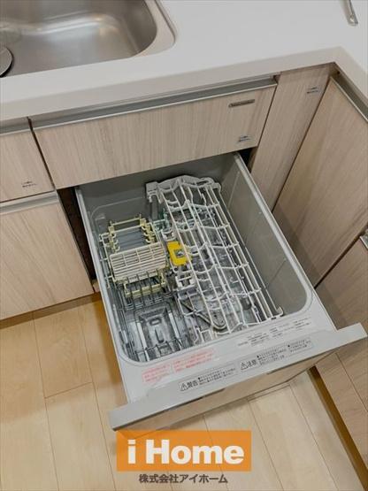 食洗機付きのため家事の負担を軽減できます!