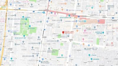 【地図】オルグ上町