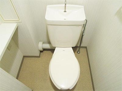 【トイレ】コーポレート中央林間2号棟