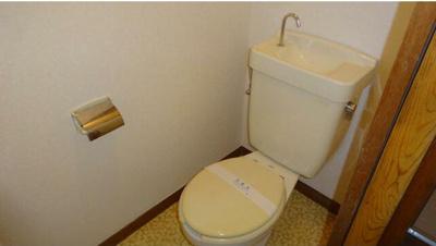 【トイレ】コーポシバハラ