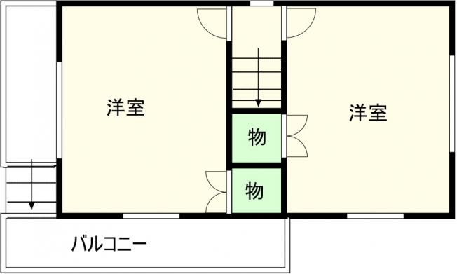【間取り】千葉市若葉区売戸建