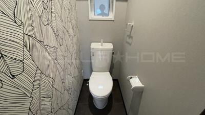 オシャレなトイレです。