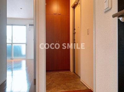 きれいな玄関です ※同型タイプ 【COCO SMILE ココスマイル】