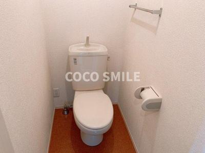 落ち着いたトイレです ※同型タイプ 【COCO SMILE ココスマイル】