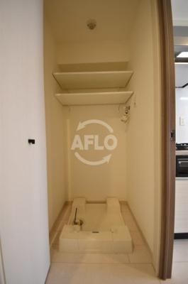 ロッカベラアパートメント 室内洗濯パン