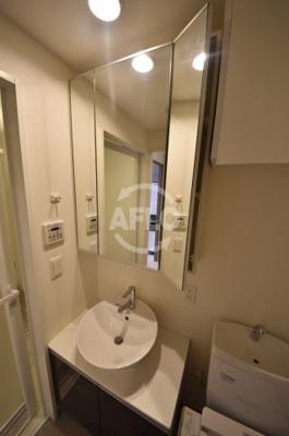 ロッカベラアパートメント 独立洗面化粧台